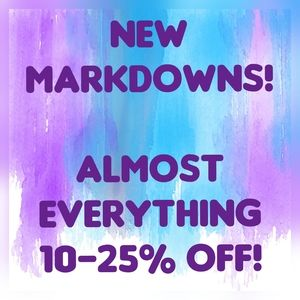 Almost EVERYTHING Marked Down!